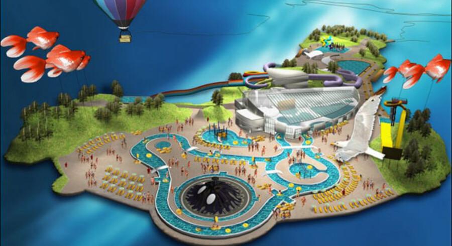 Når Vanvittigland åbner 25. juni næste år er tanken, at gæsterne skal købe kombinationsbilletter til begge parker og forhåbentlig tilbringe mere tid i området.