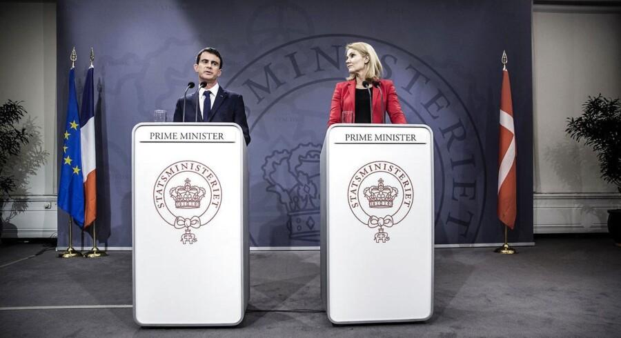 Den franske premierminister Manuel Valls var på officielt besøg i København fredag.