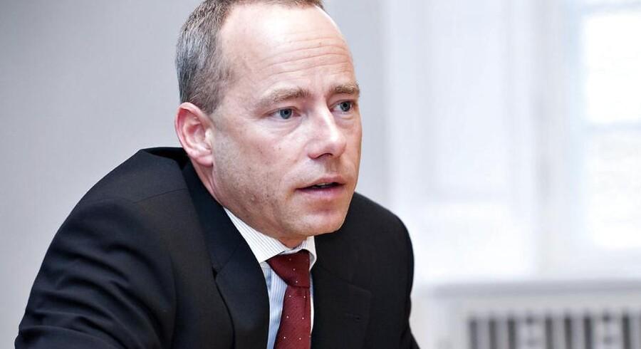 Den tidligere topchef i DSB, Søren Eriksen