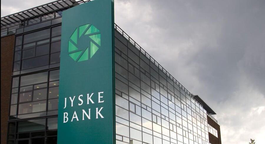 Jyske Bank vil samarbejde om IT-udviklingen. Foto: Torben Christensen, Scanpix