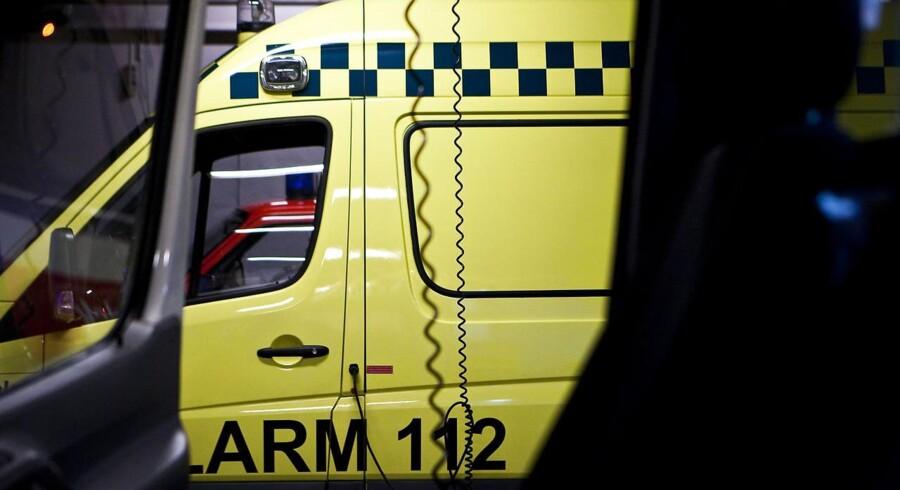Arkivfoto. Ambulance fra station Tårnby.