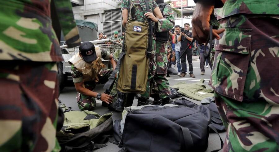 De militante, der stod bag angrebet i Jakarta, er døde, oplyser indonesisk politi
