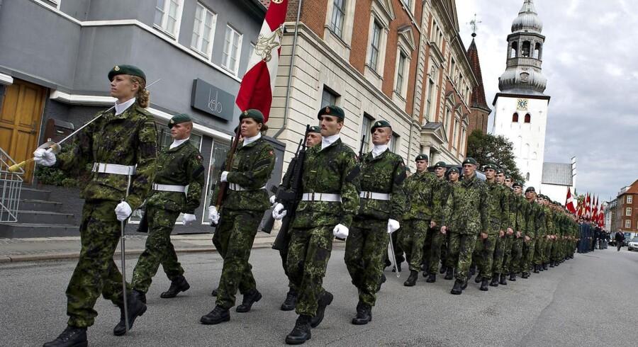 Flagdag i Aalborg i 2011.