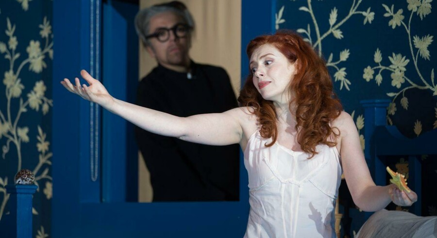 """Patricia Petibon i generalprøven af Haendels opera """"Ariodante"""" i Aix-en-Provence sidste måned Foto: Bertrand Langlois/AFP"""