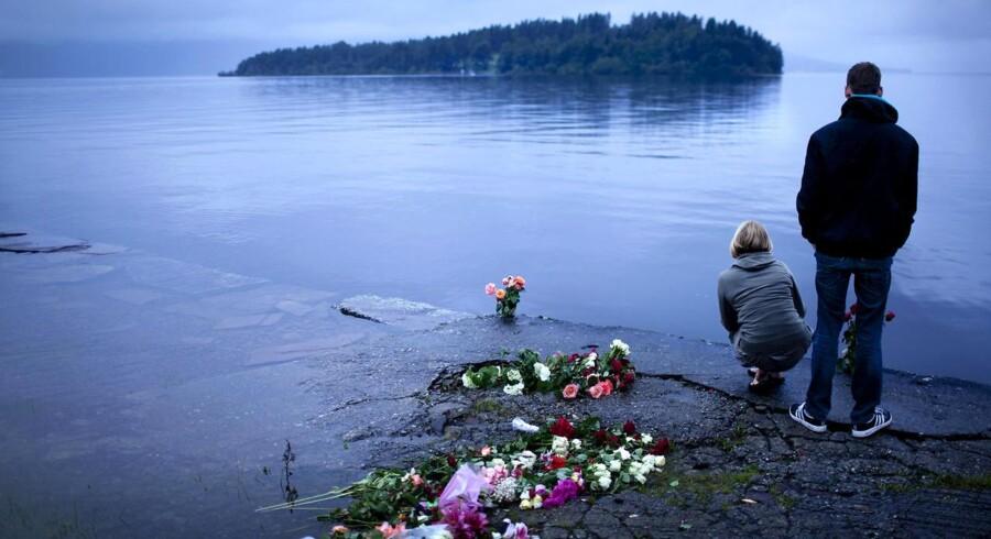 Den norske ø Utøya.