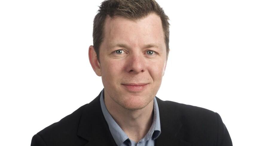 Erhvervsjournalist Laurits Harmer Lassen