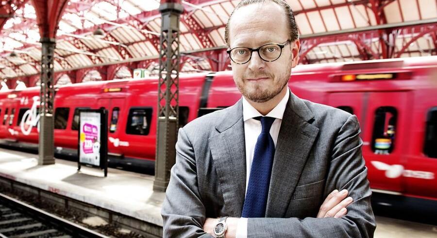 Administrerende direktør i DSB, Jesper Lok.