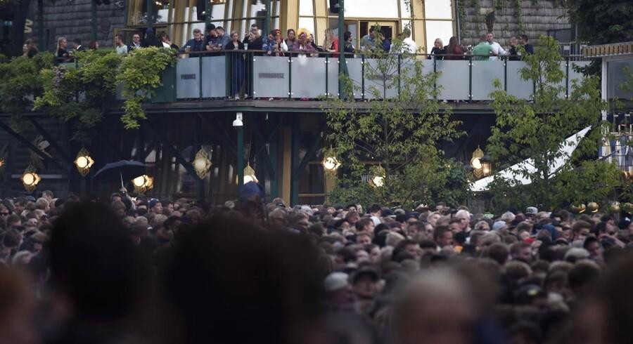 Mere end 30.000 mennesker var i Tivoli, da Snoop Dogg spillede på Plænen.