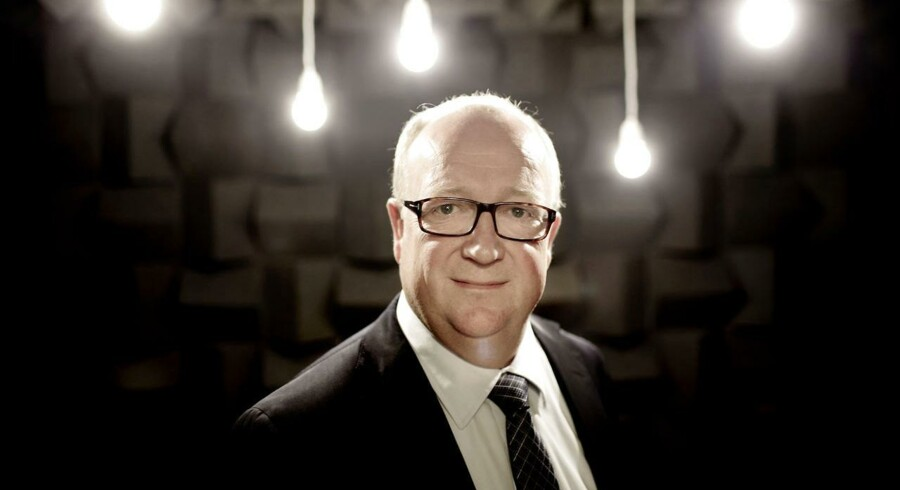 William Demant-topchef Niels Jacobsen forventer, at selskabets salg vil vokse en anelse mere end markedet generelt.
