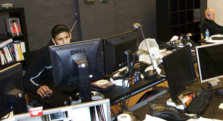 Pentia A/S er et dansk softwareudviklingshus, der beskæftiger sig med komplekse IT-løsninger. Her medarbejdere i arbejde.