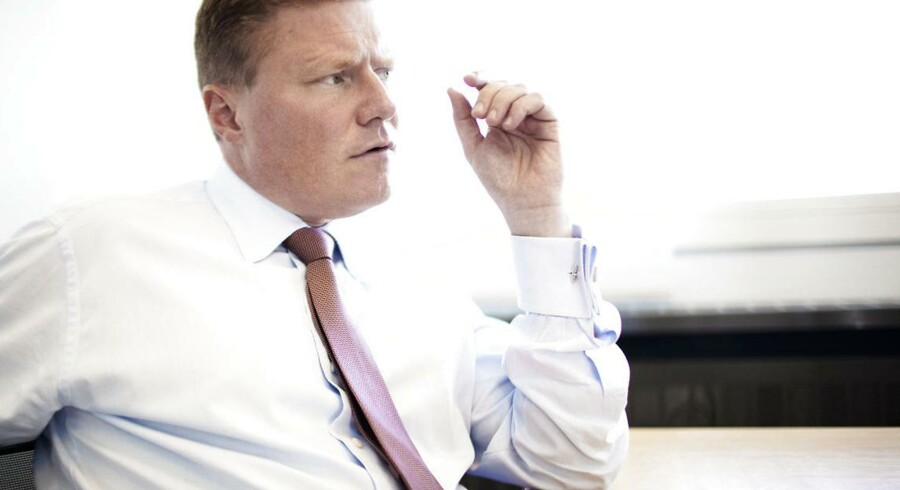 Novo Nordisks koncernøkonomidirektør, Jesper Brandgaard