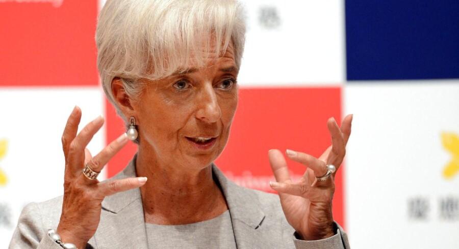 Den Internationale Valutafonds direktør, Christine Lagarde, skal fremover også have de sunde økonomier til gennemgang.