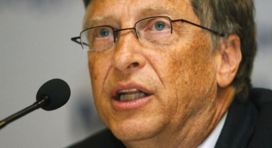 Et af målene for Gates Foundation er en bedre TB-vaccine.Her er Bill Gates ipaneldebat med indiske politikerei New Delhi i anledning af Verdenstuberkulosedagen den 24. marts i år.