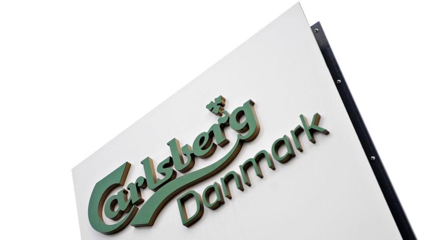 Carlsbergs B-aktie stiger 0,8 pct til 569,5 kr. og ligger forrest i C20-indekset