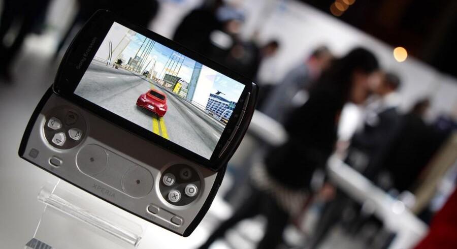 Mobilproducenten Sony Ericsson skal skifte navn efter Sonys overtagelse af selskabet. Arkivfoto: Reuters/Scanpix