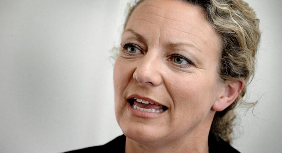 Brugerbetaling er et hot emne i dagens forhandlinger. Her TV2's topchef, Merete Eldrup.