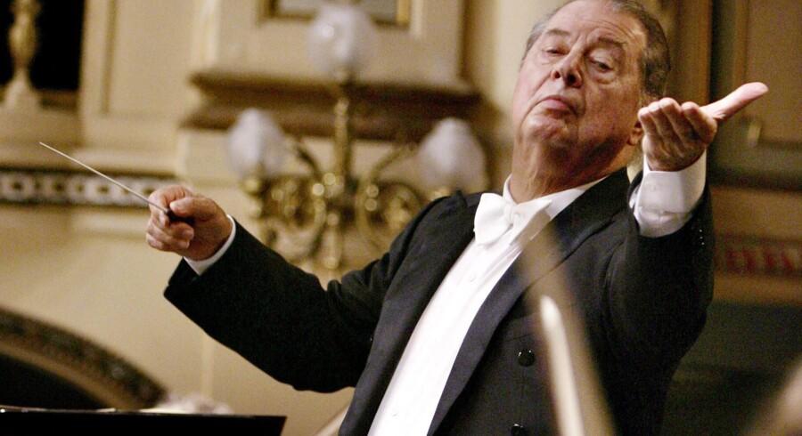 Rafael Frühbeck de Burgos stopper først i sommeren 2016, og tiden skal bruges til at gøre DR Symfoni-Orkesteret endnu bedre. Arkivfoto: Felix Ordonez/Reuters