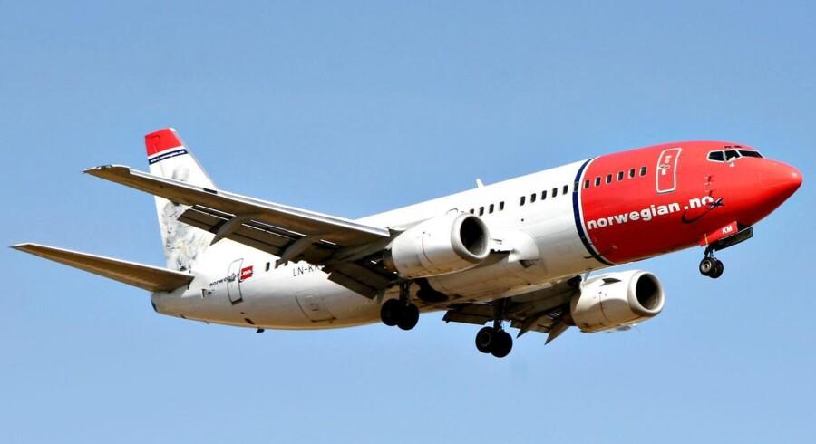 På trods af passagerfremgang, har Norwegian formået at klatre op som verdens mest punktlige lavprisselskab.