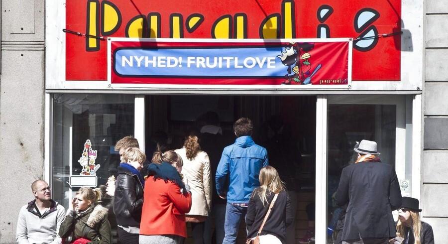 Paradis isbutik i Århus.
