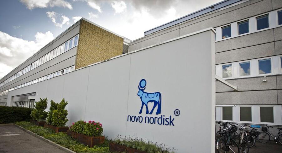 Novo Nordisks hovedsæde i Bagsværd.