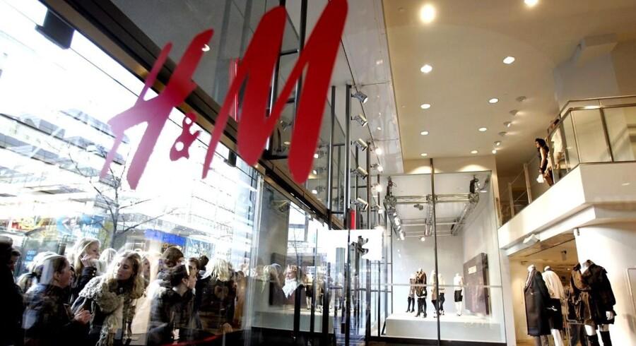 Bag resultatnedgangen i H&M ligger ifølge koncernens regnskab en omsætning, der er uændret på sammenlignelige vilkår.