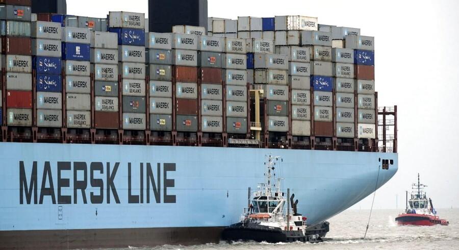 De nye, store skibe i Tripple E-klassen vil medføre lavere enhedsomkostninger, men i øvrigt er der sparet, hvor der kan spares i Maersk Line, mener AktieUgebrevet.