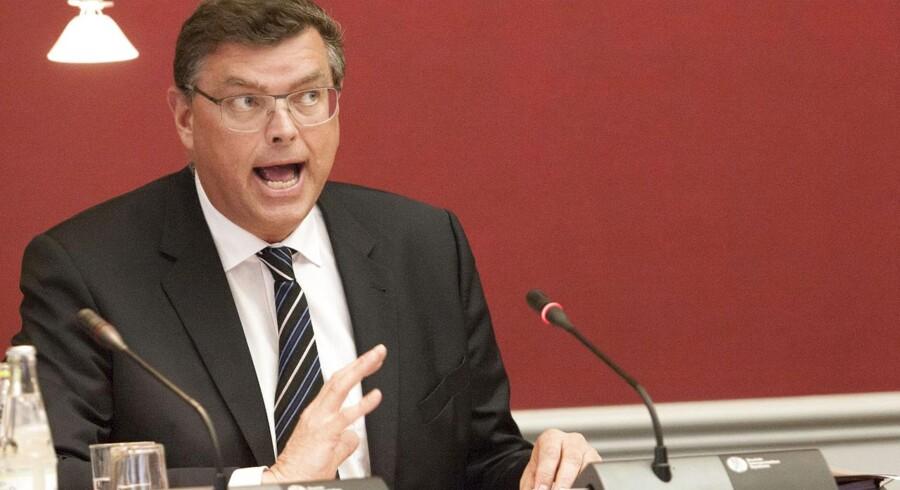 Handels- og udviklingsminister, Mogens Jensen (S).