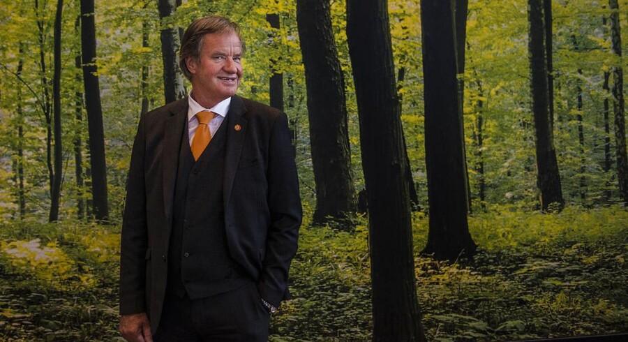 Administrerende direktør i Norwegian, Bjørn Kjos, skal de næste dage forsvare selskabets irske model over for piloter.