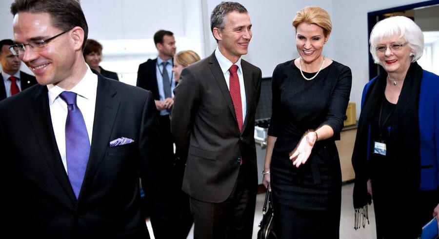 De to socialdemokratiske statsministre fra Norge og Danmark, Jens Stoltenberg og Helle Thorning-Schmidt er ikke enige om, hvorvidt Palæstina skal anerkendes i UNESCO.