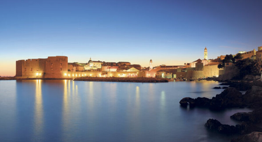 Den smukke, kroatiske middelalderby Dubrovnik har rollen som hovedstaden King's Landing i adventureserien »Game of Thrones«.