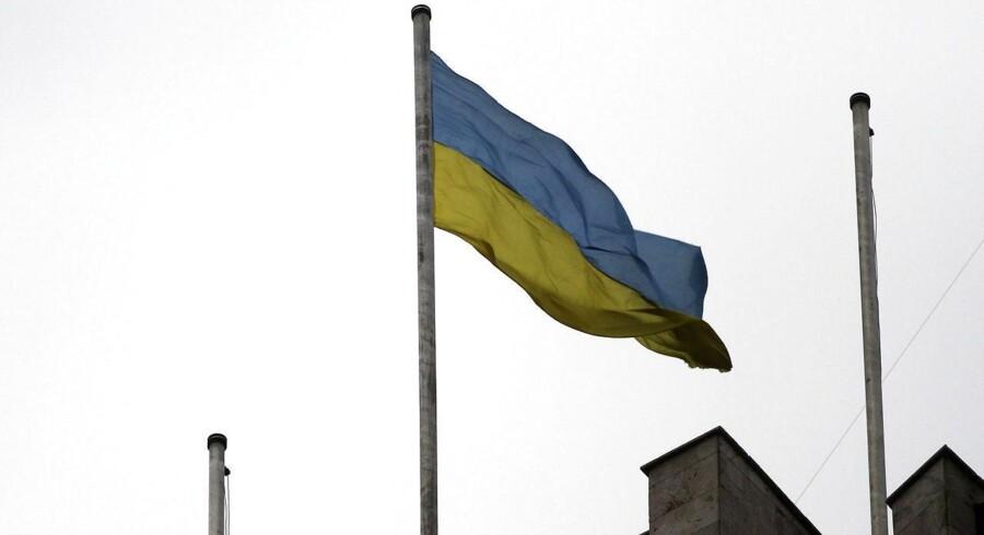 Ukraine er på randen af bankerot.