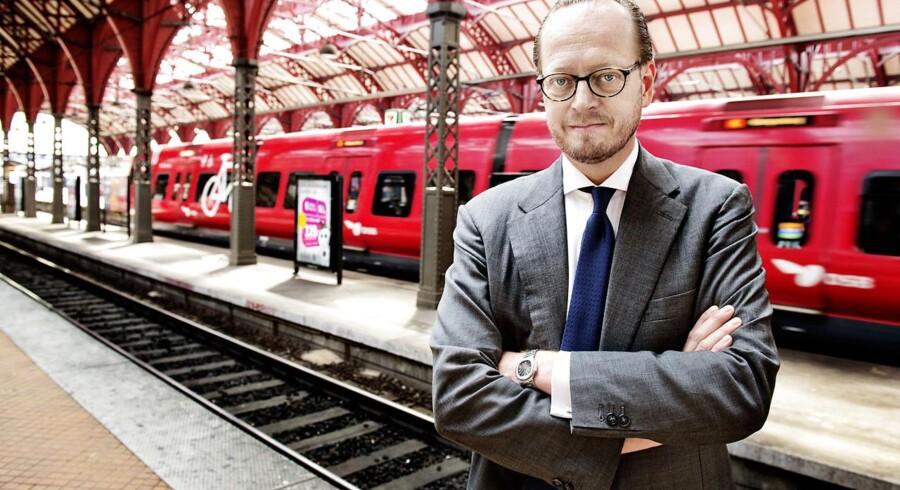 DSB-chef Jesper Lok