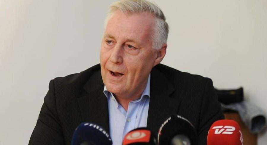 Transportminister Henrik Dam Kristensen.