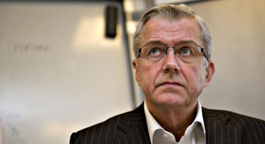 Asger jensby tilbageholdt bevidst en række oplysninger om sig selv, på et pressemøde om svindlen i IT-Factory, i december.