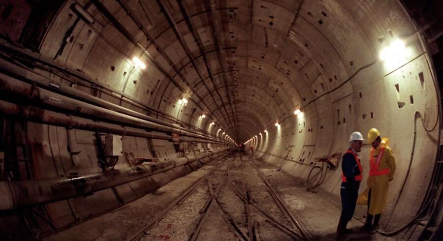 Eurotunnel forbedrer EBIT-resultatet med 11 mio. euro i første halvår i forhold til sidste år