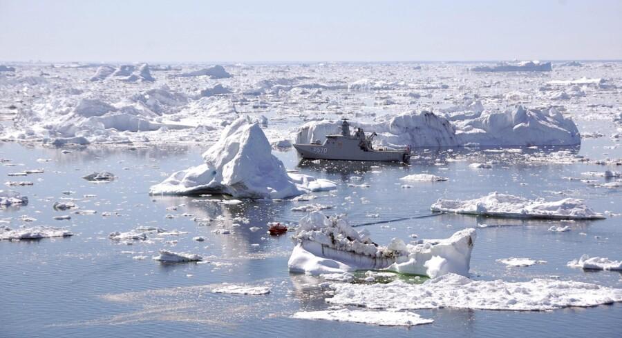 KNI er Grønlands vigtigste virksomhed og ejes af grønlands selvstyre. Foto: Scanpix