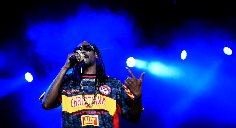 Snoop Dogg i Tivoli.