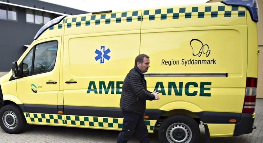Bio skal stå for ambulancekørslen i Region Syddanmark fra 1. september.