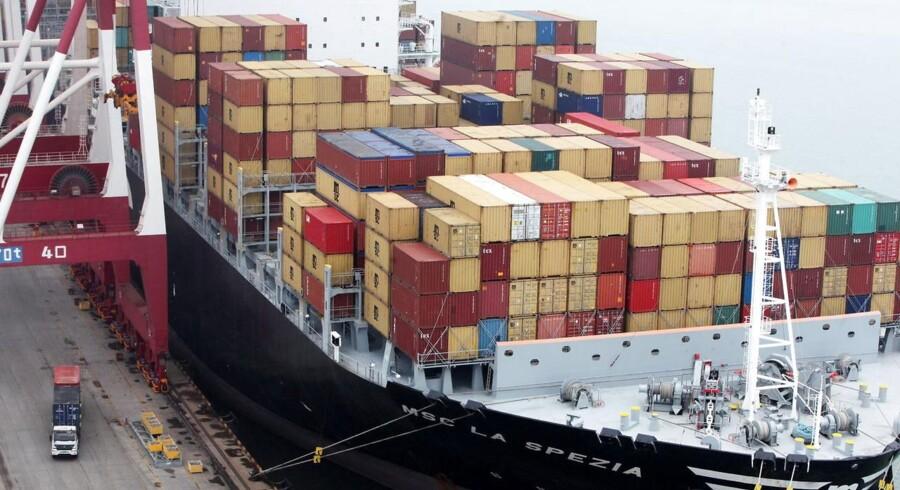 Raterne er dykket med 35,6 pct. siden rederne gennemførte en generel ratestigning 1. august.