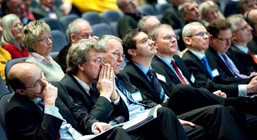 Fremmødte aktionærer på GN Store Nords generalforsamling d.23. marts 2009