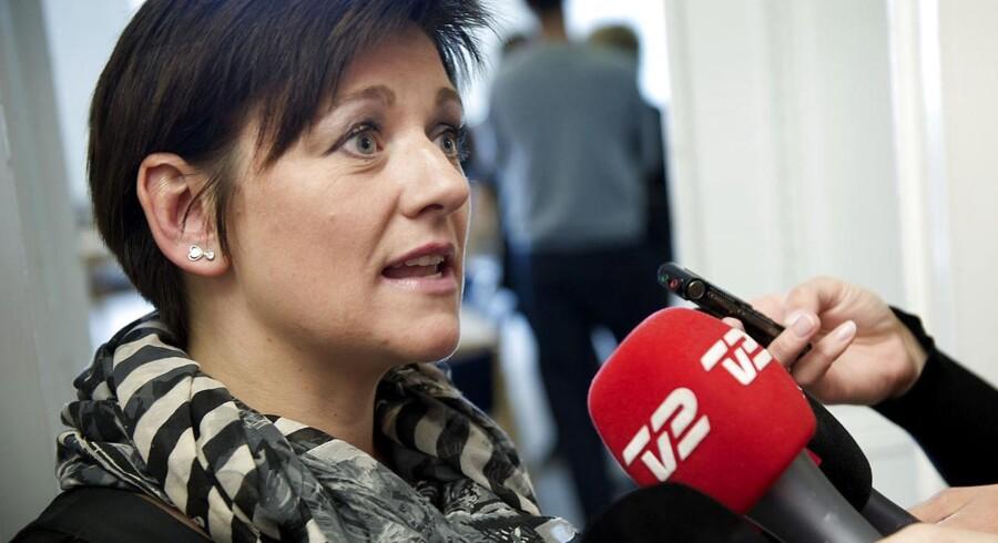 Tidligere gruppeformand i SF, Pernille Vigsø Bagge, fortæller nu, at hun skal være gruppeformand igen. Arkivfoto.