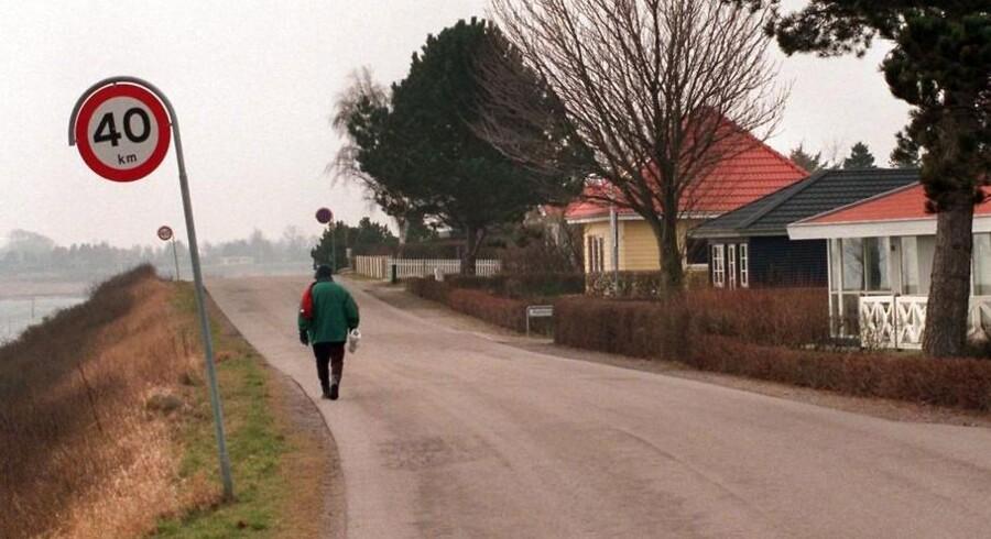 Fartgrænserne skal lettere kunne sænkes i boligområder.