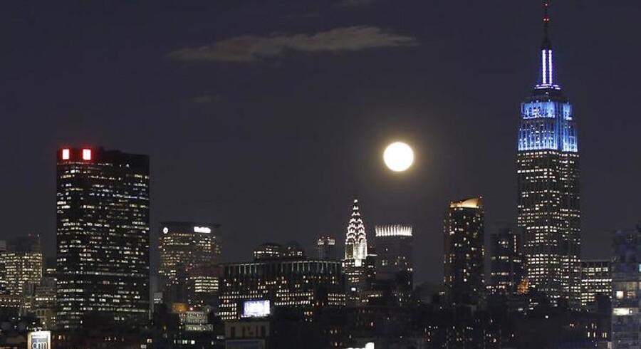 Art Deco-skyskraberen Empire State Building er trods sin alder stadig en markant del af New Yorks skyline.