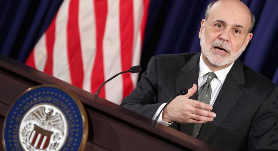 Referater fra møderne i Federal Reserve tegner et billede af, at centralbankchef Ben Bernanke sent indså alvoren i de syge boliglån, der skubbede den amerikanske økonomi ud i en enorm krise.