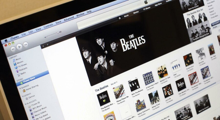 Rettighederne til Beatles-indspilningerne skifter hænder.