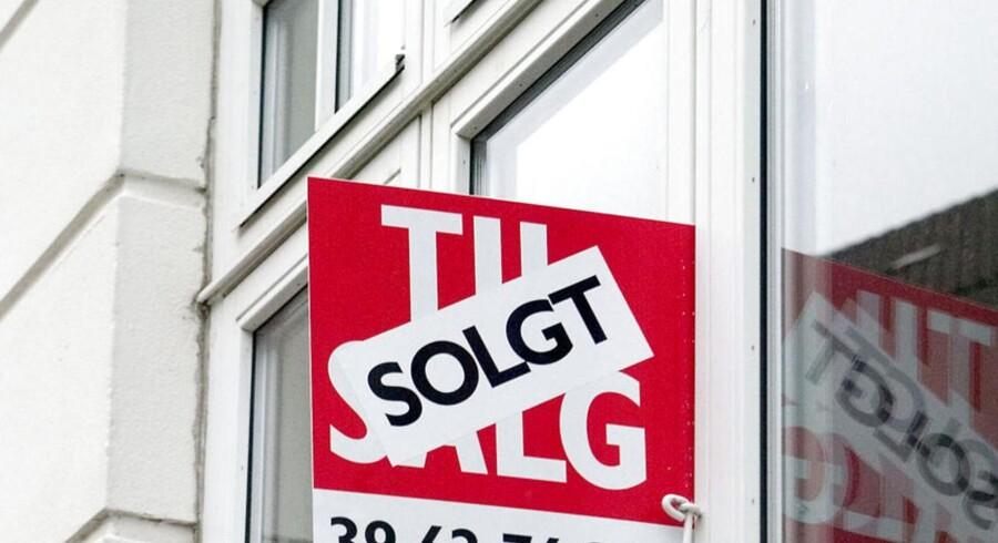 I store byer som Aalborg, Esbjerg og Odense er andelen af selvsælgere betragteligt lavere end i hovedstaden.