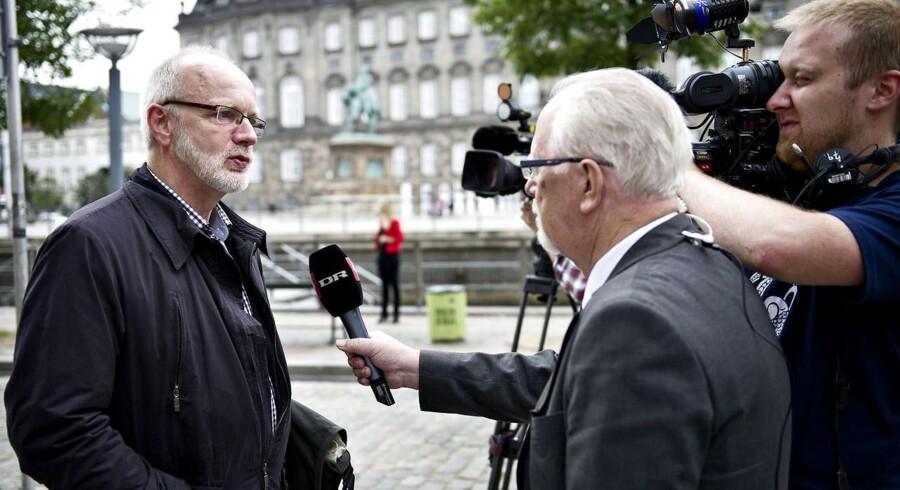 Arkivfoto: AK Samvirkes direktør, Verner Sand Kirk, siger, at tallene er dybt relevante for debatten om en ny dagpengereform.
