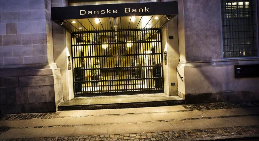 Jyske Banks analytikere tror på, at Danske Banks aktie har et stort potentiale, hvis nedskrivningerne permanent er bragt ned.