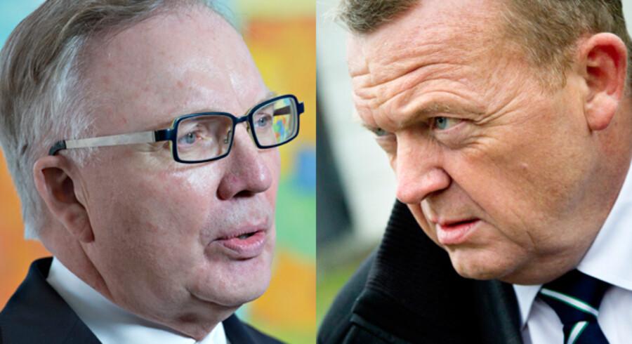 Fritz Schur og Lars Løkke Rasmussen