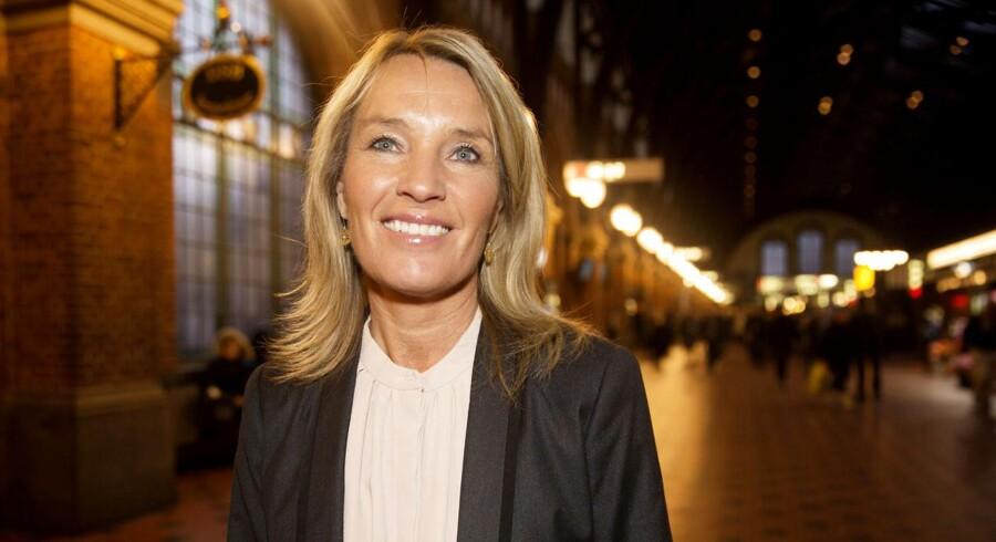 Lene Espersen forlader dansk politik. her fotograferet på Hovedbanegården efter interveiw i Go' Morgen Danmark onsdag 5. november 2014 (Foto: Erik Refner/Scanpix 2014)